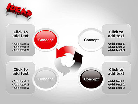 Pushing Ideas PowerPoint Template Slide 9