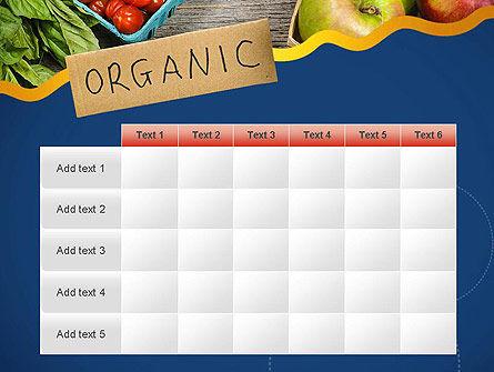 Organic Foods PowerPoint Template Slide 15