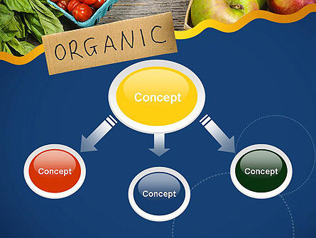 Organic Foods PowerPoint Template, Slide 4, 11787, Food & Beverage — PoweredTemplate.com