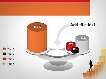 Walking Upward PowerPoint Template Slide 10