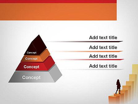 Walking Upward PowerPoint Template Slide 12