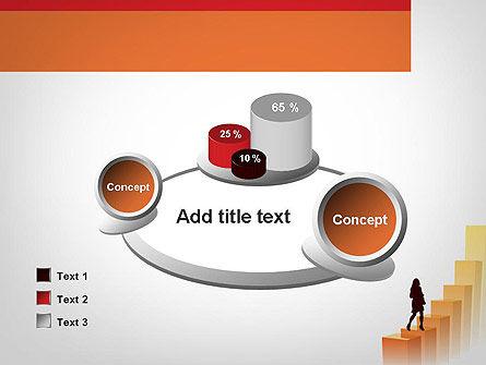 Walking Upward PowerPoint Template Slide 16
