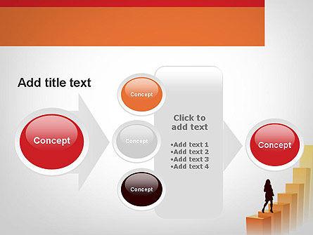 Walking Upward PowerPoint Template Slide 17