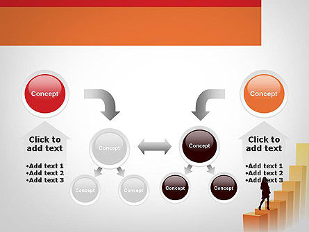 Walking Upward PowerPoint Template Slide 19