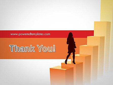 Walking Upward PowerPoint Template Slide 20