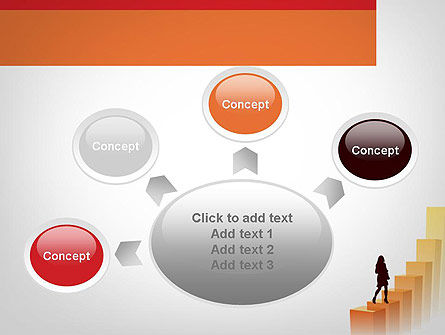 Walking Upward PowerPoint Template Slide 7