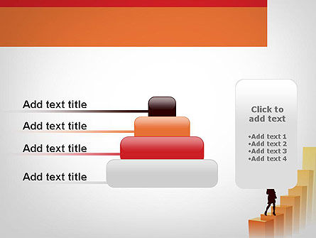 Walking Upward PowerPoint Template Slide 8