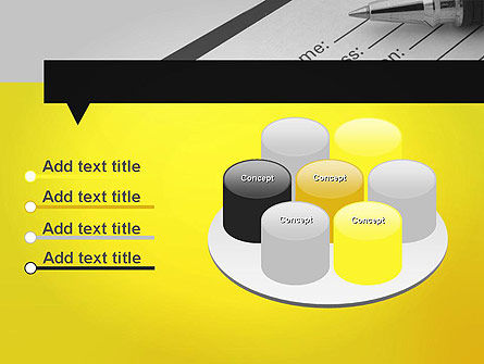 Application Form PowerPoint Template Slide 12
