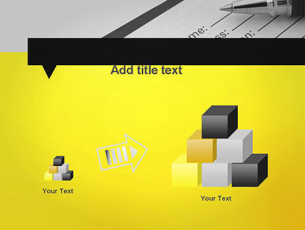 Application Form PowerPoint Template Slide 13