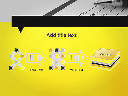 Application Form PowerPoint Template Slide 9