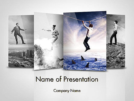 Business Risks PowerPoint Template, 11792, Consulting — PoweredTemplate.com