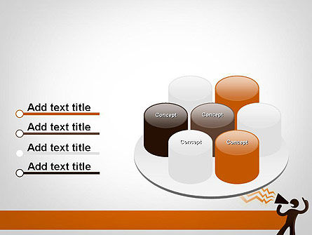 Guy with Megaphone PowerPoint Template Slide 12