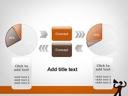Guy with Megaphone PowerPoint Template Slide 16