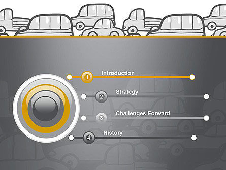 Traffic PowerPoint Template, Slide 3, 11794, Cars and Transportation — PoweredTemplate.com
