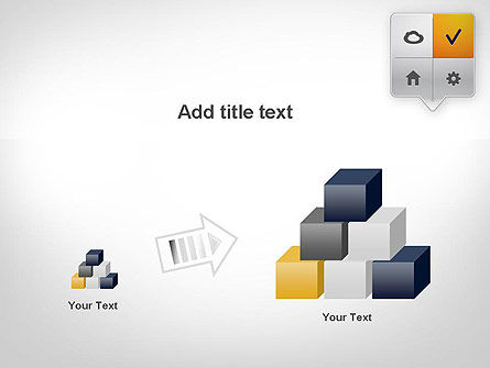 Menu Pointers PowerPoint Template Slide 13