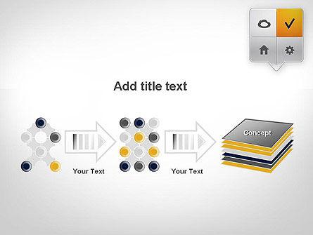 Menu Pointers PowerPoint Template Slide 9