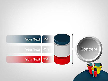 3D Diagrams PowerPoint Template Slide 11