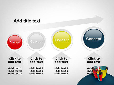 3D Diagrams PowerPoint Template Slide 13