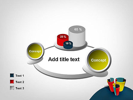 3D Diagrams PowerPoint Template Slide 16