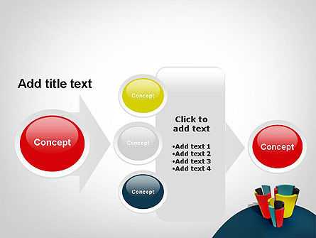 3D Diagrams PowerPoint Template Slide 17