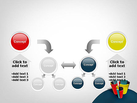 3D Diagrams PowerPoint Template Slide 19
