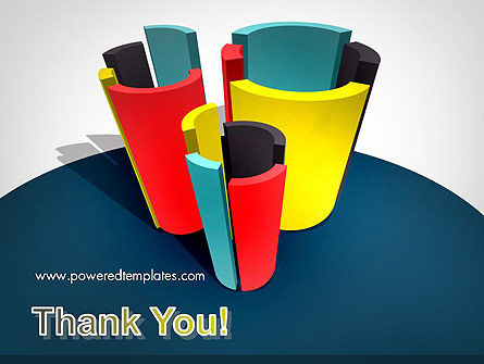 3D Diagrams PowerPoint Template Slide 20