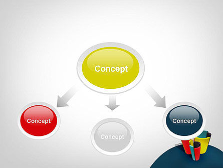 3D Diagrams PowerPoint Template, Slide 4, 11798, Business Concepts — PoweredTemplate.com