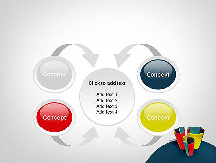 3D Diagrams PowerPoint Template Slide 6