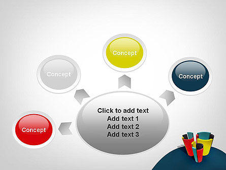 3D Diagrams PowerPoint Template Slide 7
