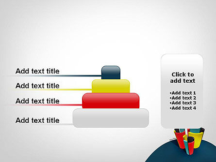 3D Diagrams PowerPoint Template Slide 8
