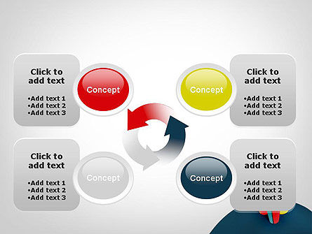 3D Diagrams PowerPoint Template Slide 9