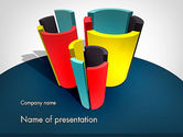 Business Concepts: 3D Diagrams PowerPoint Template #11798