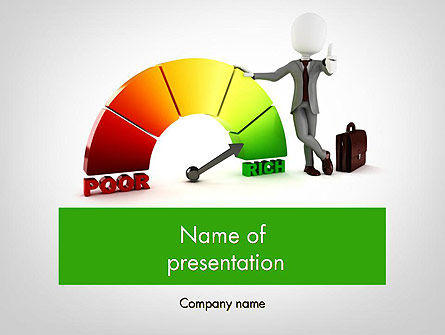 Poor-Rich PowerPoint Template