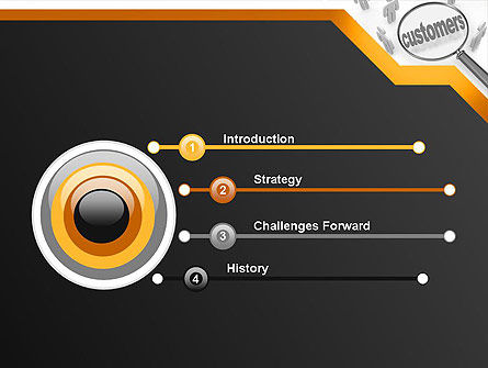 Database Marketing PowerPoint Template, Slide 3, 11800, Careers/Industry — PoweredTemplate.com