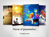Business: Visual Reports PowerPoint Template #11805