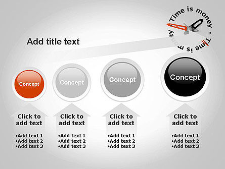 Time is Money Clock PowerPoint Template Slide 13