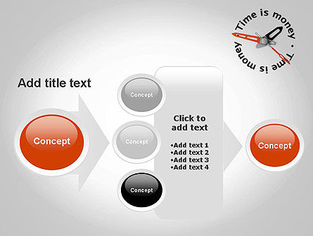 Time is Money Clock PowerPoint Template Slide 17