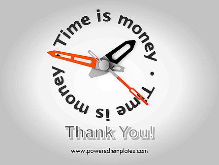 Time is Money Clock PowerPoint Template Slide 20