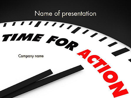 Taking Action PowerPoint Template