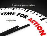 Business Concepts: Taking Action PowerPoint Template #11809