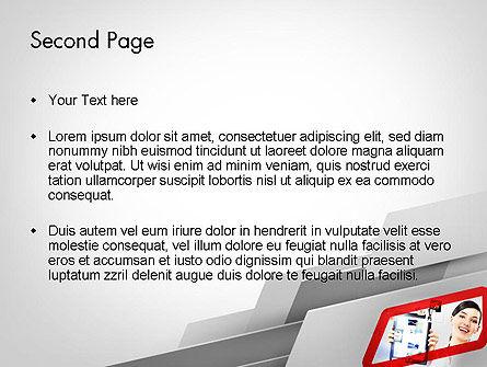 Technology Presentation PowerPoint Template, Slide 2, 11810, Technology and Science — PoweredTemplate.com