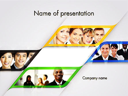 People: Successful Team PowerPoint Template #11812