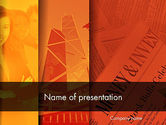 Financial/Accounting: Money and Investment PowerPoint Template #11815