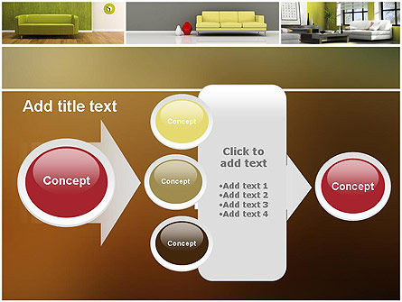 Interior Design Ideas PowerPoint Template Slide 17
