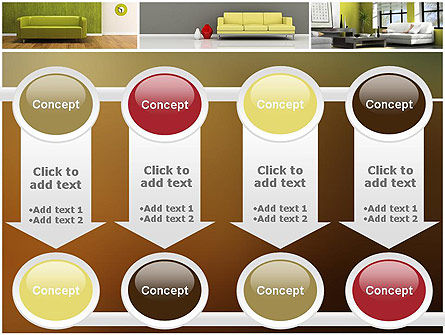 Interior Design Ideas PowerPoint Template Slide 18