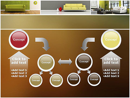 Interior Design Ideas PowerPoint Template Slide 19