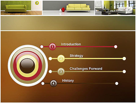 Interior Design Ideas PowerPoint Template, Slide 3, 11817, Careers/Industry — PoweredTemplate.com