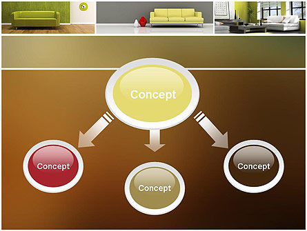 Interior Design Ideas PowerPoint Template, Slide 4, 11817, Careers/Industry — PoweredTemplate.com