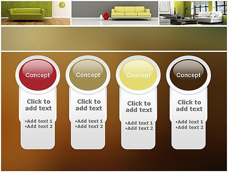 Interior Design Ideas PowerPoint Template Slide 5