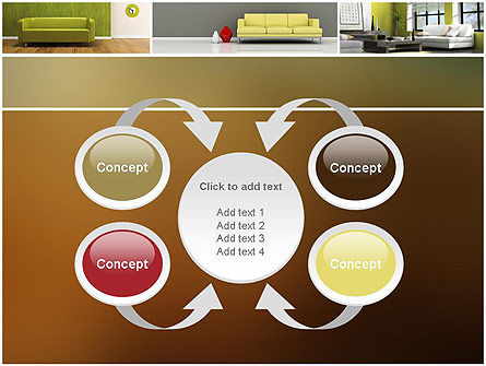 Interior Design Ideas PowerPoint Template Slide 6